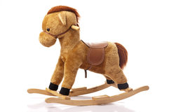 Brown Rocking Horse Royalty Free Stock Photo