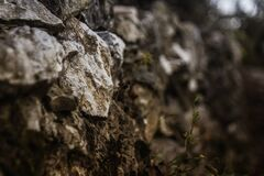 Brown Rocks Royalty Free Stock Photo