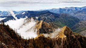 Brown Rocky Mountain Royalty Free Stock Images