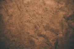 Brown rocznika szorstki papier Abstrakcjonistyczny tło i tekstura dla projektantów Stary rocznik przetwarzający papier Ciemny szo Fotografia Stock