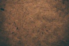 Brown rocznika szorstki papier Abstrakcjonistyczny tło i tekstura dla projektantów Stary rocznik przetwarzający papier Ciemny szo Fotografia Royalty Free
