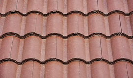 Brown roof tile Stock Photos