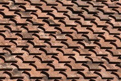Brown roof Royalty Free Stock Photos
