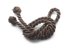 Brown rope Royalty Free Stock Photos