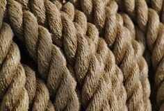 Brown Rope Royalty Free Stock Images