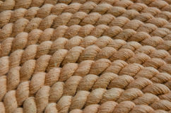 Brown rope Stock Photography
