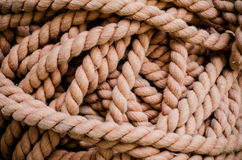 Brown Rope Stock Images
