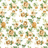 Brown Rose Fabric background, Fragment of colorful retro tapestr Royalty Free Stock Photography