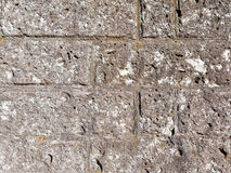 Brown rough natural stone Stock Photos