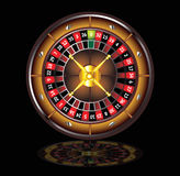 Brown roulette wheel Stock Photography