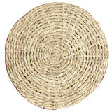 Brown round mat Stock Photography