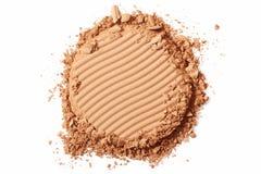 Brown rumiena kosmetyk miażdżący Zdjęcie Royalty Free