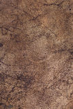 Brown rust metal background Stock Images