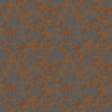 Brown rust texture on metal, seamless pattern Royalty Free Stock Image
