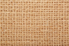 Brown, rustic fabric texture background Stock Image