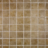 Brown rustic tile background Stock Images