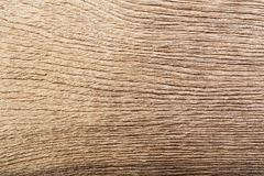 Brown rustic wood grain texture as background. stock photography