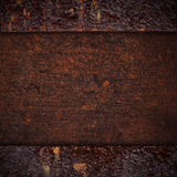 Brown rusty iron background Royalty Free Stock Photography