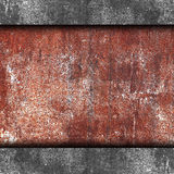 Brown rusty iron background wall grunge fabric Stock Image