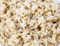 Brown ryż Fotografia Royalty Free