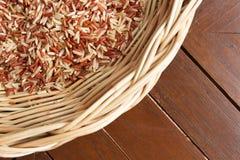 Brown ryż Fotografia Stock