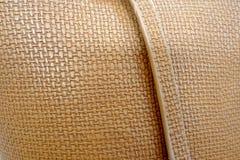Brown rzemiennej torby tekstury tło fotografia royalty free
