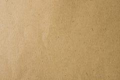 Brown rzemiosła papier dla tła Obrazy Stock