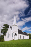 Brown's Yard church, New Brunswick Royalty Free Stock Images
