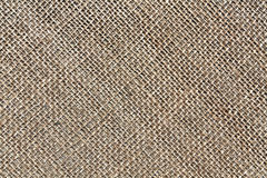 Brown sack cloth texture. Royalty Free Stock Images