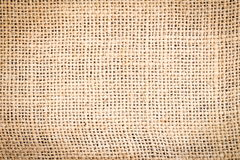 Brown Sackcloth texture backdrop background Royalty Free Stock Images