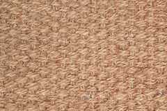 Brown sackcloth with texture background Stock Photo