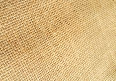 Brown sackcloth texture Stock Photo