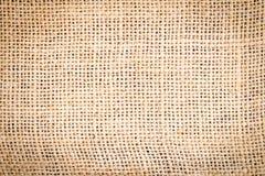 Brown-Sackleinenbeschaffenheits-Hintergrundhintergrund Lizenzfreie Stockbilder
