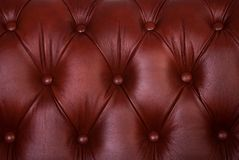Brown sample of an upholstery of a sofa Stock Photo