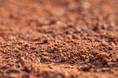Brown sand royalty free stock photography