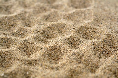 Brown sand macro Royalty Free Stock Photography