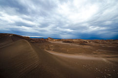 Brown Sand Under Cloudy Sky during Daytime Stock Photos
