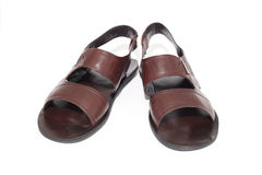 Brown sandals Royalty Free Stock Images
