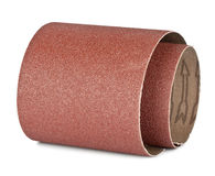 Brown sandpaper. For your woodwork Stock Photography