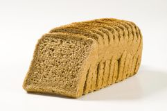 Brown sandwich bread Royalty Free Stock Photo
