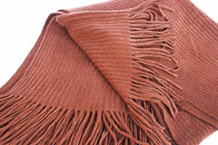 Brown scarf Stock Photos