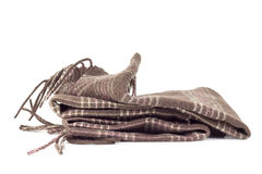 Brown scarf Stock Photos