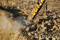 Brown-Schlucht-Bergbau lizenzfreie stockfotografie