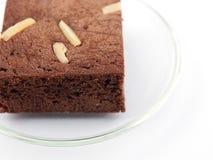 Brown-Schokoladenkuchen Lizenzfreie Stockfotografie