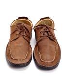 Brown-Schuhe Stockbilder