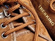 Brown-Schuhe Stockfotos