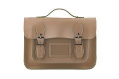 Brown-Schultasche Stockbild