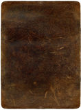 Brown scratched leather Royalty Free Stock Photography