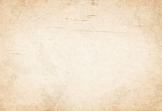 Brown scratched recycled paper texture Royalty Free Stock Photos