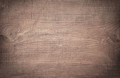 Brown scratched wooden cutting board Royalty Free Stock Photo